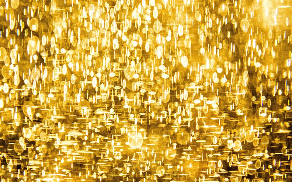 gouden muur